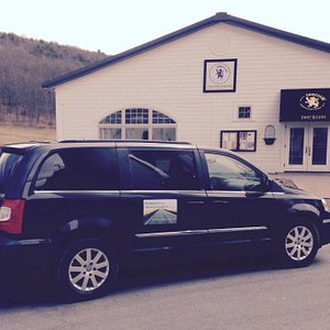 Our van at Brewery Ommegang