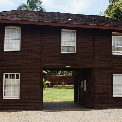 Old Lahaina Prison - Stuck in Irons House (Hale Pa'ahao)
