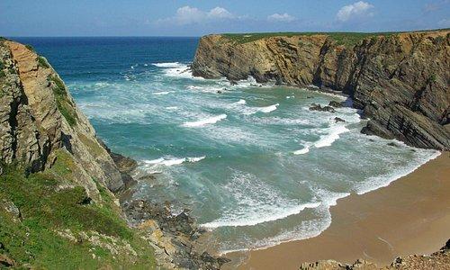 Atlantische kust bij Herdade do Touril