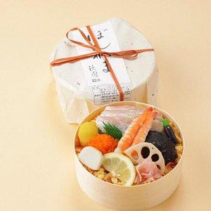 ぼんかま ちらし寿司 駅弁 sushi bento ekiben