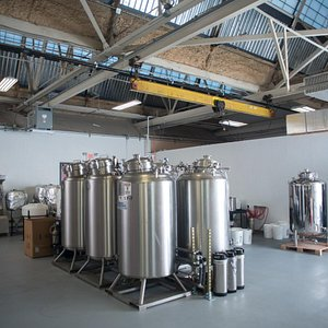The fermentation tanks and process are detailed on the tour