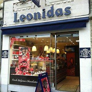 Leonidas Belgian Chocolate shop