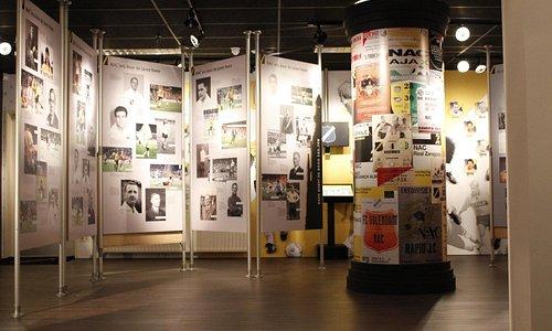 Overzicht NAC Museum