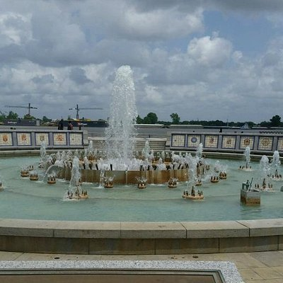 Plaza Fountains