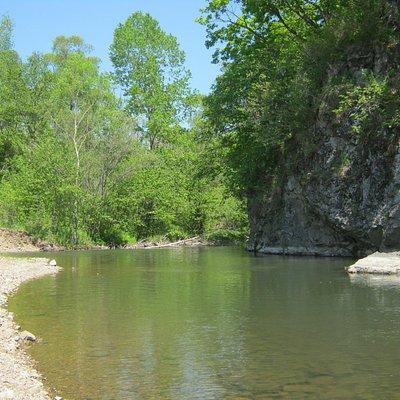 река Постышева (Сица) г.Партизанск