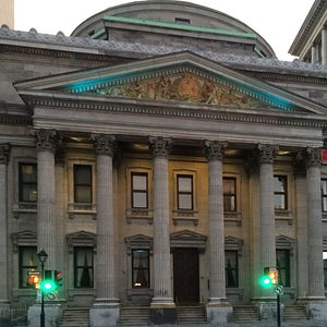Housed in a Neoclassical Building