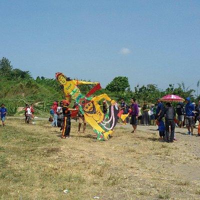 Festival layang-layang Goa kreo