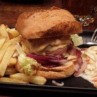 Virgin 'Real bacon burger'