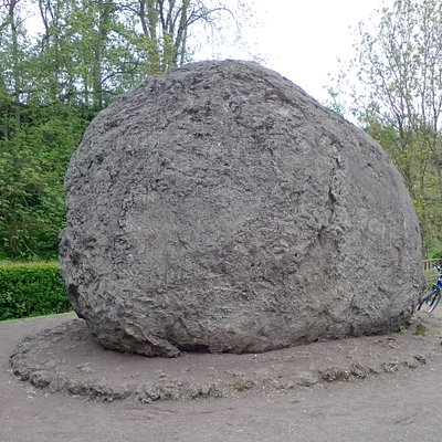Basaltkugel-Lavabombe