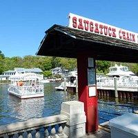 The Saugatuck Chain Ferry