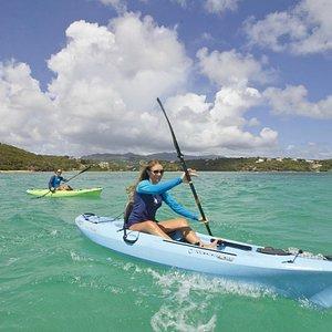 Kayaking with Conservation Kayak, Grenada, Caribbean