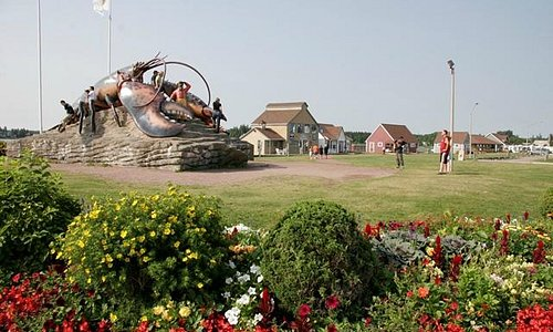 The Giant Lobster at Rotary Park
