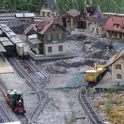 Male miniaturowe miasteczko