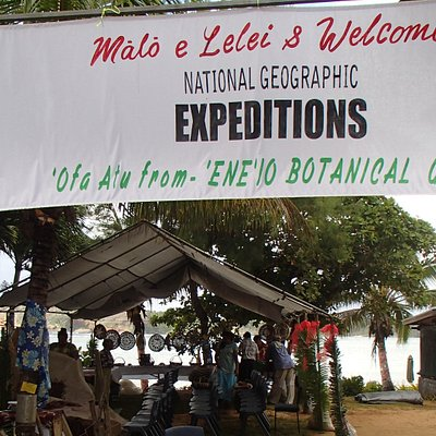 Welcoming Nat Geo Exepeditions to 'Ene'io Botanical Garden