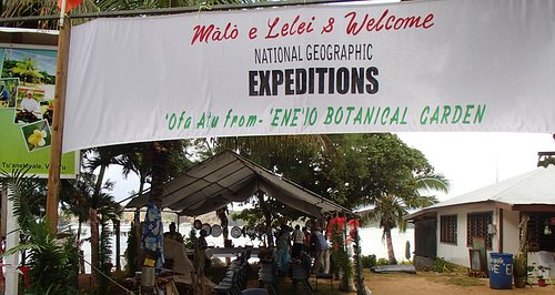 Welcoming Nat Geo Exepeditions to 'Ene'io Botanical Garden