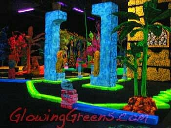 Glowing Greens