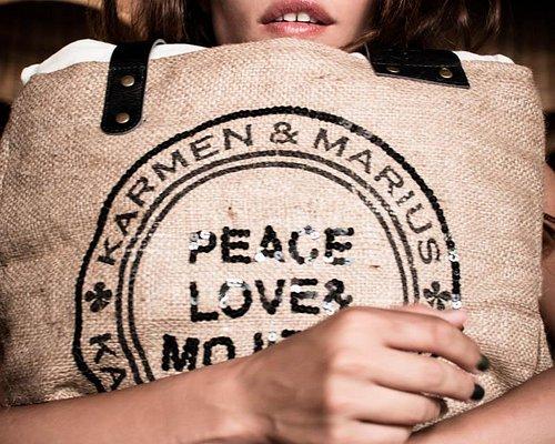 Peace love and Mojito Bags Edition