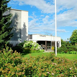 Kurikan pääkirjasto - Library
