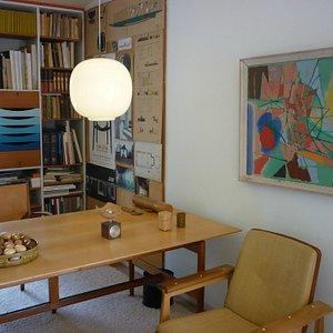 Finn Juhl's study