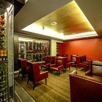 The Wine Room at Civil Lounge.