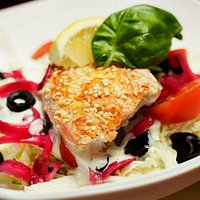 Salmon salad!