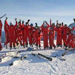 Team der Skischule Rot Weiß Rot