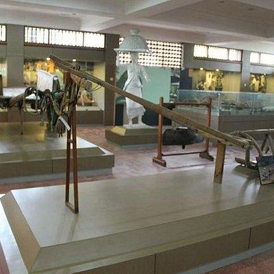 Ruang Pamer di Museum Subak