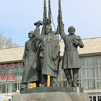 Доблестным защитникам Советского Севера