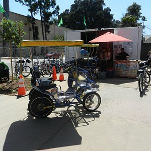 Rental Station in Balboa Park