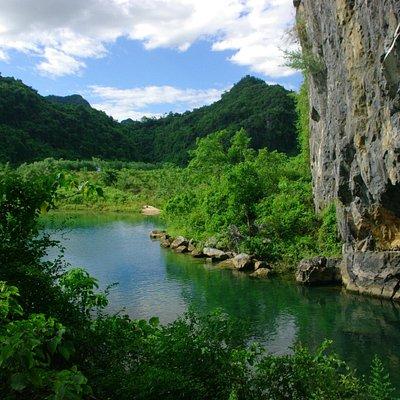 Stunning natural surroundings