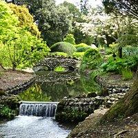 Little brooks run through the gardens