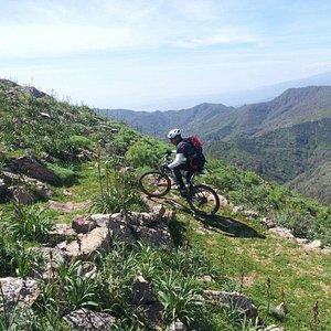 mountain bike taormina