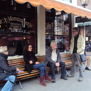 Café 't  Monumentje, Westerstraat 120, Amsterdam, The Netherlands