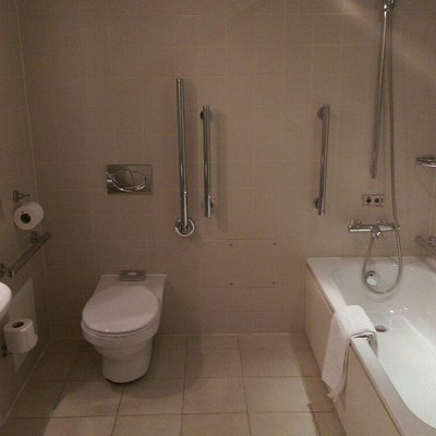 Spa and Disabled bathroom