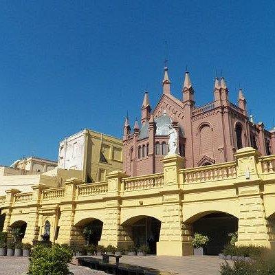 Centro cultural, fachada