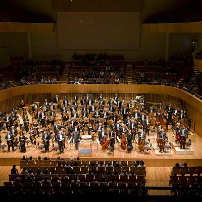 ホール内でのコンサート