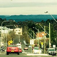 View over Katoomba towards Jamieson Vallet