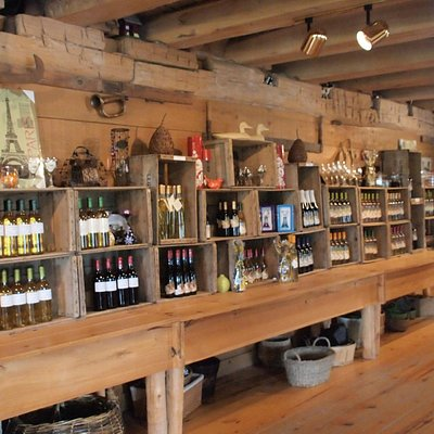 Decor and wines inside OCALA