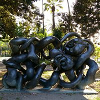 Monumento a Picasso (Autor: Berrocal)