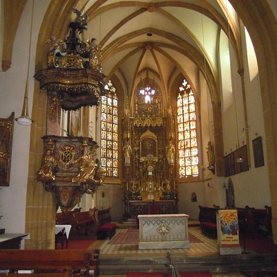 Altar und Kanzel