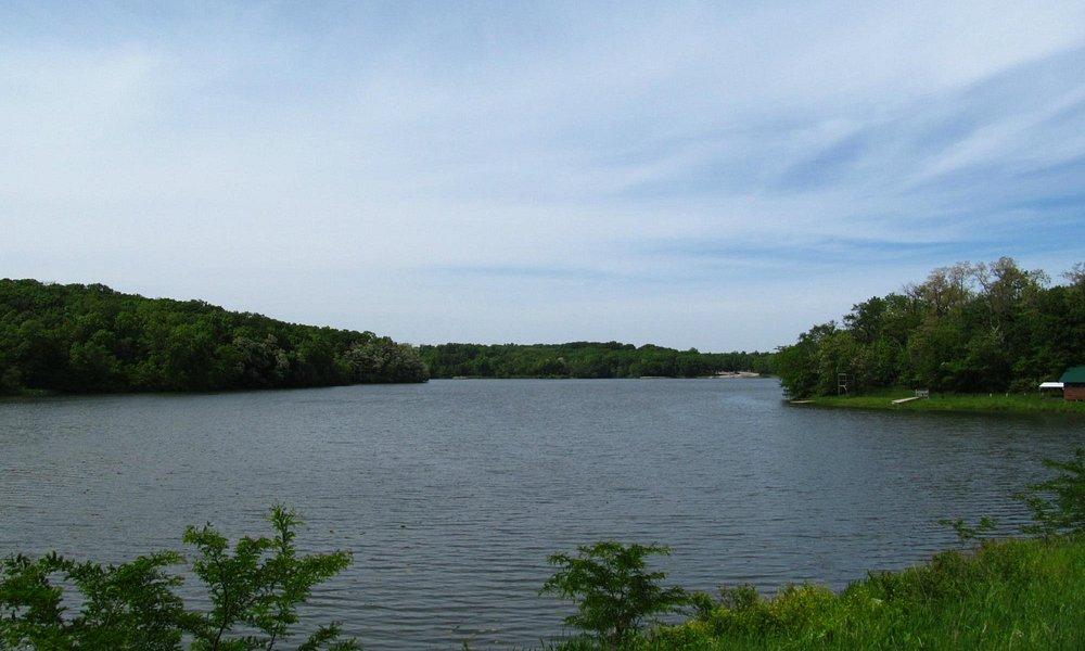 Lake Wapello from Lake Shore Trail