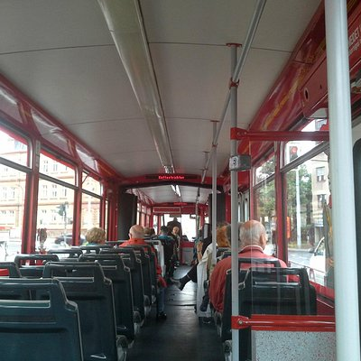 very special tour - see all of the city by historic tram