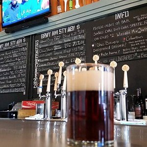 21 Craft Beers on Tap