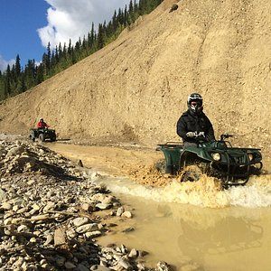 Riding in creekbeds