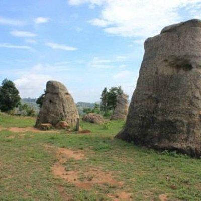 The elephant rocks