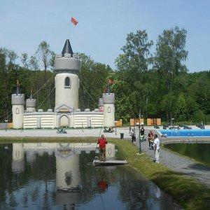 Zamek dmuchany - Park Rozrywki