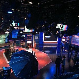 The Nightly Show studio