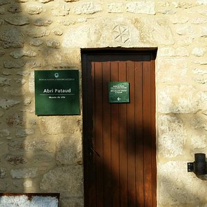 one of the entry doors