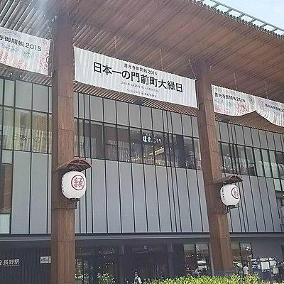 長野駅の中にあります