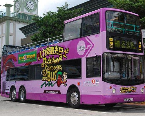 new Richshaw Sightseeing Bus